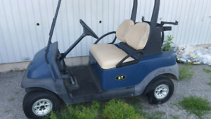 Need atv have gas golf cart 4 trade