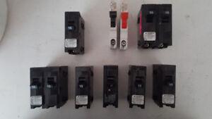 Assorted Breakers - Stab-Lok and Siemens