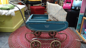 Original 1950 - Gendron Child's Doll Carriage - Very nice!