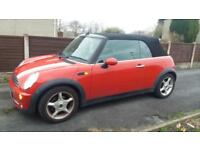 2006 56 MINI COOPER CONVERTIBLE WITH CHILLI PACK.SUPERB EXAMPLE WITH FULL SH .