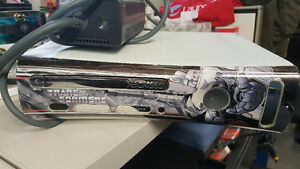 Xbox 360 w/ Custom Transformers Megatron Faceplate and 20GB HD Kitchener / Waterloo Kitchener Area image 1