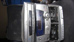 Phillips and RCA AM/FM, Cassette, CD