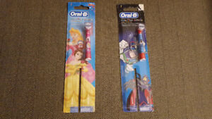 Children's Oral-B Brushhead For Braun Brand - New in Package