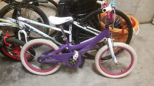 "Mongoose Girls Bike 18"" tires"