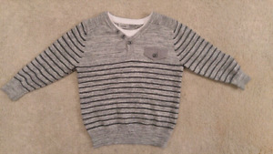 Cotton sweater 2-3T