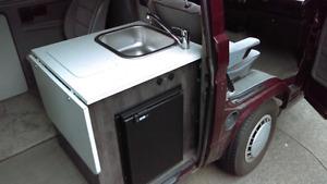 Westfalia weekender évier sink réfrigérateur refrigerator