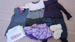 NEW Girl clothes lot 12 - 18 months