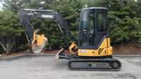 Excavator John Deere 35D for sale
