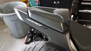 2016 2017 2018 CBR500r / CB500F Matte Black Passenger Seat Cowl