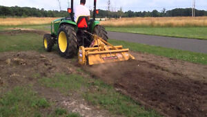 3 point hitch rototiller for Compact Tractor