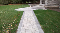 Stone Foundations Sod Installations & Stump / Small Tree Removal