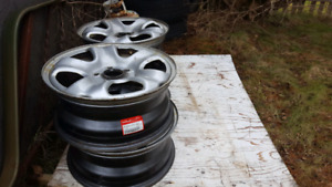 "16"" Steel Rims Set of Four"