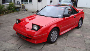 1989 Toyota MR2 Supercharged Coupe (2 door)