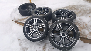 Rims and tires off 2013 dodge dart