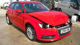 Audi A3 1.6TDI ( 110ps ) 2015 SE DAMAGED SPARES OR REPAIR SALVAGE