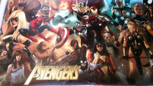 All Avengers Gigantic High Quality Poster