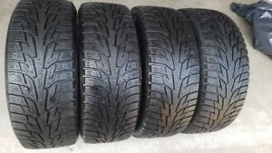 215/55R/16 HANKOOK WINTER I PIKE RS TIRES WITH LOTS OF TREAD