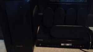 Samsung surround sound system.