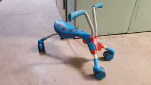 Bug Ride on Foldable Kids scooter