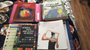 Selling PSY, SOC and CYC textbooks!