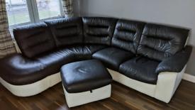DFS corner sofa/couch