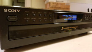 Sony CDP-CE375 mint vintage 5-disc CD Player !