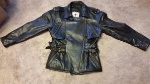Beautiful Vintage Motorcycle Jacket - Women's Size Small