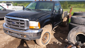2000 ford f250 xlt 7.3 4x4 parts or project truck