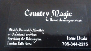 Country Magic  housecleaning services Kawartha Lakes Peterborough Area image 1