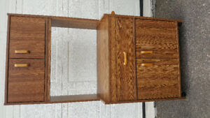 Small entertainment unit or kitchen cabinet