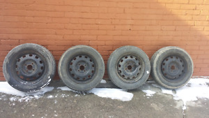 15  inch 4 bolt Ford steel rims