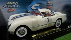 1/18 DIECAST CHEVROLET CORVETTE COUPE RACING # 3 SOLIDO MIRA