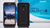 Samsung Galaxy S6 Active Unlocked in minth condition