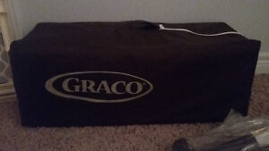Graco  playpen gender neutral and tension gate