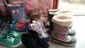 Girls shoes size 2, 3, 4