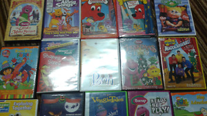 Dvds learning watches fairy & dora curtains clock hair clips
