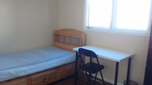 Century Park LRT Furnished Upstairs Rooms for September only.