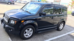 2008 Honda Element EX, Black, AWD
