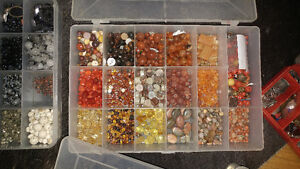7yrs of collecting semi precious beads
