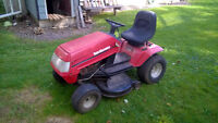 Yard Machines by MTD Ride-On Lawn Mower Lawn Tractor