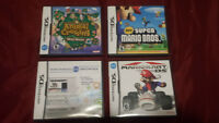 DS Games ! Mario kart etc.