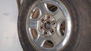 sets of gm 6 bolt rims great for winter tires