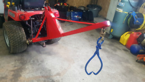 3 point hitch boom