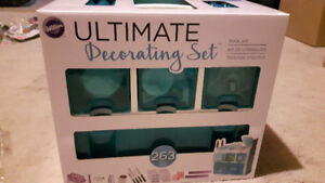 Cake decorating  tools and caddie