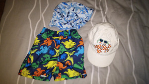 Swim suit & summer hats