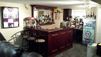 Home Bar for Rec room or Man Cave