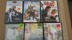 Lot de plus de 110 DVD