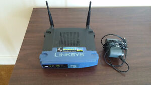 Linksys WRT54GL v1.1 802.11 b/g Wireless Router