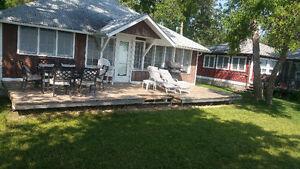Furnish Lakefront Cottage for Rent Aug 25-30 at Winnipeg Beach
