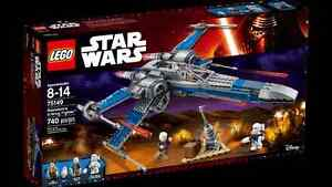 SCELLÉ+NEW LEGO Star Wars Resistance X-Wing Fighter (75149)